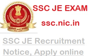 ssc JE Recruitment 2019-2020| Notification| Exam dates| govtjobs2019.in